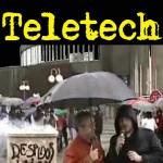 Huelga Teletech (Siero, Asturies) 2004