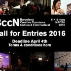 BCCN Barcelona Creative Commons Film Festival 2016