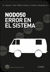 Nodo50. Error en el sistema. 2011